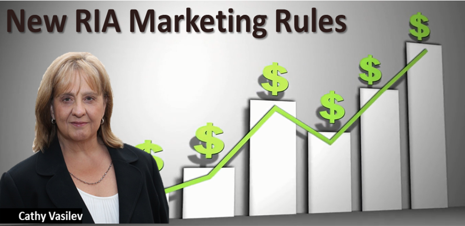 New Rules For RIAs On Testimonials, Performance Advertisements, And Marketing