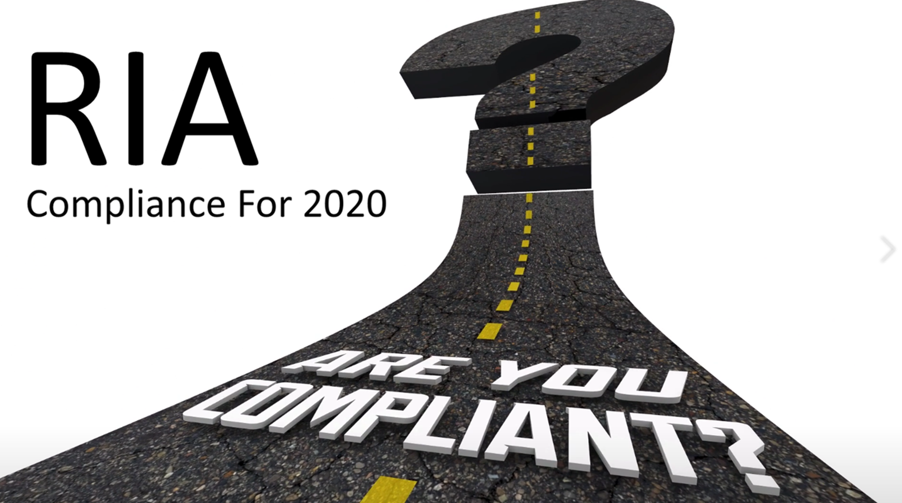 2020 Compliance For RIAs