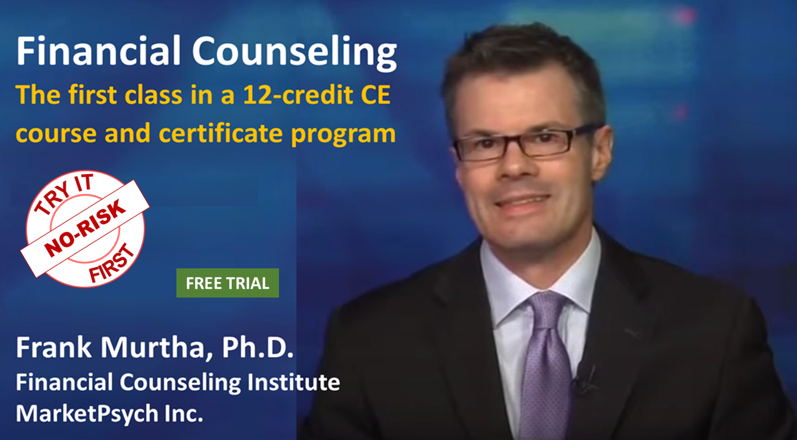 Financial Counseling Introduction and Overview (1 Credit)