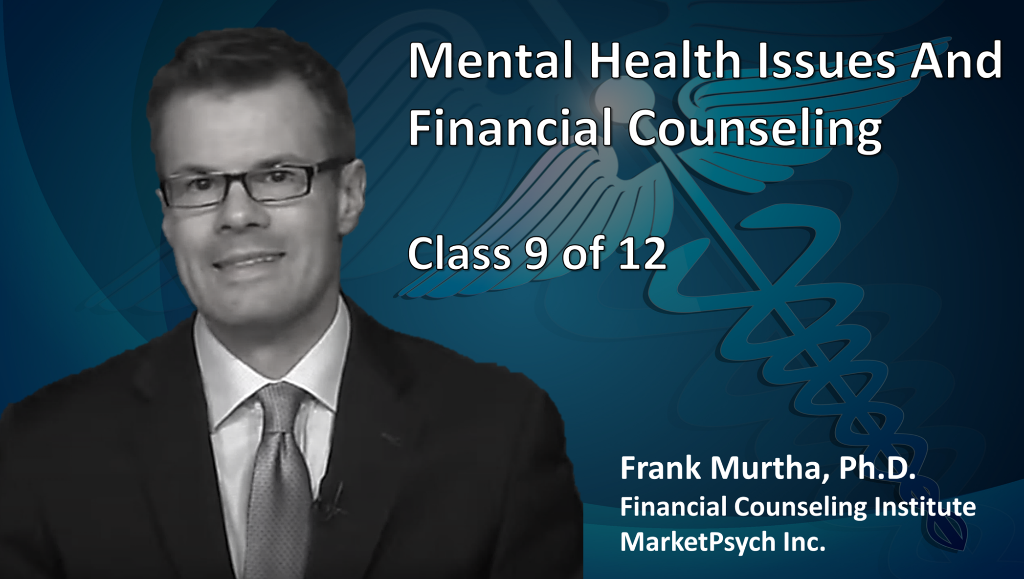 Mental Health Issues And Financial Counseling (1 Credit)