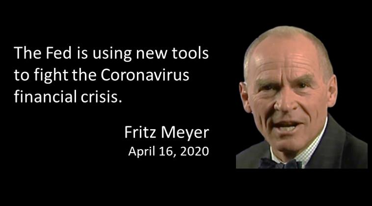 Fritz Meyer Quarterly Economic Update, April 2020 (One Credit)